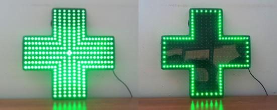 Croce verde e blu 120x120 in promozione